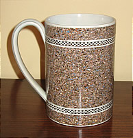 SOLD   Mocha Mug with Early Bill of Sale