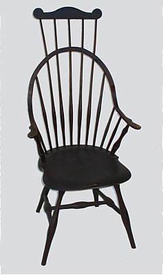Furnitureu003cbru003eFurniture Archivesu003cbru003eSOLD A Continuous Arm Windsor Comb
