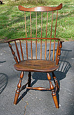 SOLD A Connecticut Comb Back Windsor Armchair